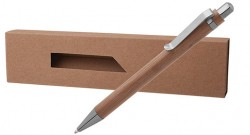 ЕКО бамбукова химикалка в кутия PAPB-2 + BMB-002