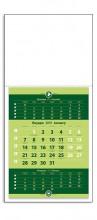 1213 Стенен работен календар едно тяло - вертикален