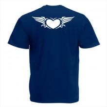Тениска с печат - Романтика 005