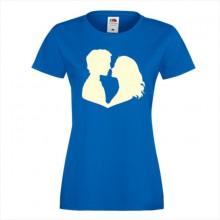 Тениска с печат - Романтика 007