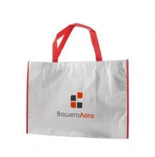ЕКО торбичка от нетъкан текстил ECONT02007 + печат на лого в ДВА цвята