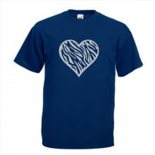 Тениска с печат - Романтика 010