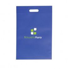 ЕКО торбичка от нетъкан текстил ECONT02004 + печат на лого в ДВА цвята