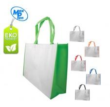 ЕКО торбичка от нетъкан текстил ECONT007 + печат на лого в един цвят