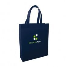 ЕКО торбичка от нетъкан текстил ECONT02006 + печат на лого в ДВА цвята