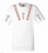 Тениска с българска шевица