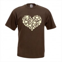 Тениска с печат - Романтика 006