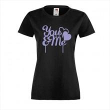 Тениска с печат - Романтика 008