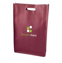 ЕКО торбичка от нетъкан текстил ECONT02003 + печат на лого в ДВА цвята