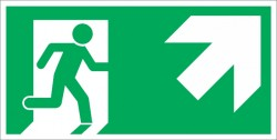 Указателен знак  - Авариен изход