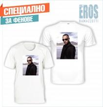 Тениска с пълноцветен печат - ЕРОС РАМАЦОТИ 002