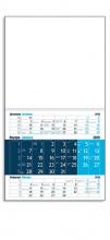 1222 Стенен работен календар едно тяло - квадрат