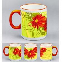 Kерамична чаша Белослава + печат на изображение по цялата чаша