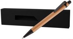ЕКО бамбукова химикалка в кутия PAPB-1 + BMB-002