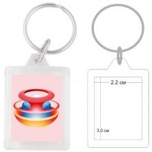 Пластмасов ключодържател PKCH-10014