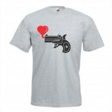 Тениска с печат - Романтика 014