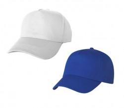Детска шапка с козирка + печат на лого в един цвят