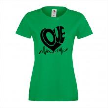Тениска с печат - Романтика 001