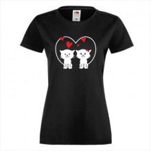 Тениска с печат - Романтика 012