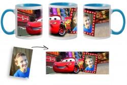 Kерамична чаша CARS с ваша снимка