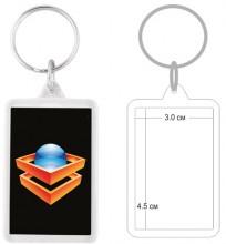 Пластмасов ключодържател PKCH-10012