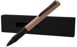 ЕКО бамбукова химикалка в кутия PAPB-1 + BMB-001
