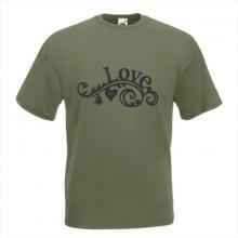 Тениска с печат - Романтика 009